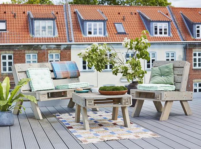 plus paletten bank natur gartenm bel. Black Bedroom Furniture Sets. Home Design Ideas