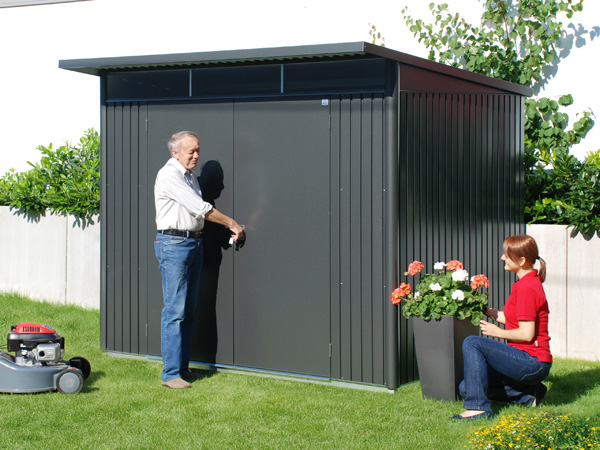gartenhaus metall garten einebinsenweisheit. Black Bedroom Furniture Sets. Home Design Ideas