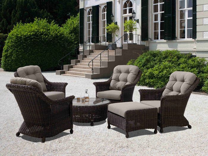 4seasons madoera lounge sessel gartenm bel. Black Bedroom Furniture Sets. Home Design Ideas