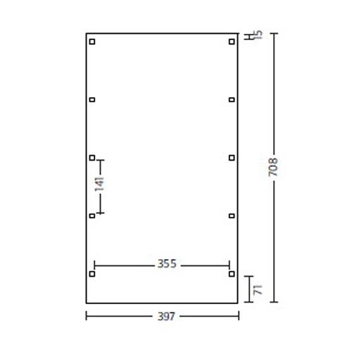 skanholz 115er profil flachdach carport friesland einzel carport alu dach ca b 397 x t 708cm. Black Bedroom Furniture Sets. Home Design Ideas