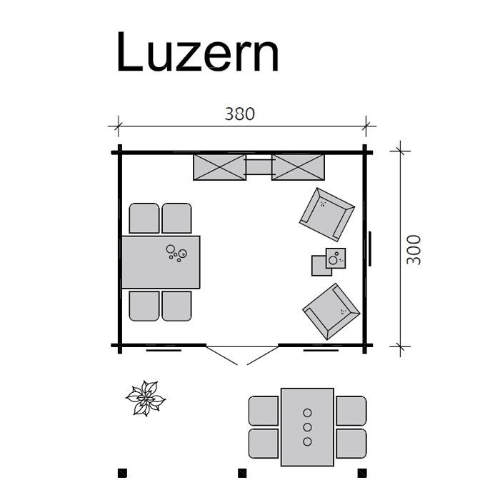 skanholz blockbohlenhaus luzern f r dachpfannen. Black Bedroom Furniture Sets. Home Design Ideas