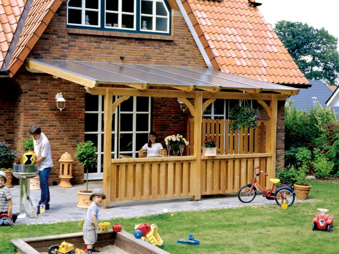 skanholz terrassen berdachung rimini b 434 x t 250cm terrassend cher. Black Bedroom Furniture Sets. Home Design Ideas