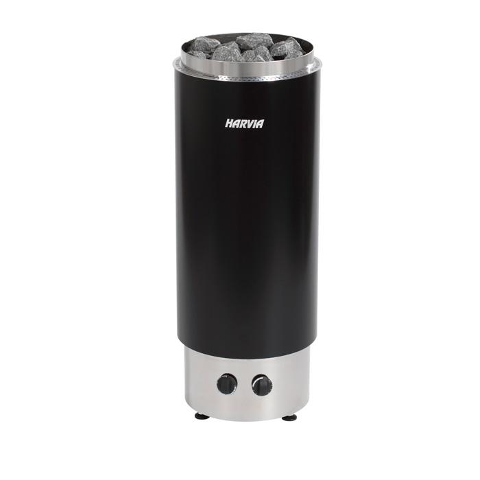 harvia saunaofen cilindro pc70h mit integriertem steuerger t saunaofen. Black Bedroom Furniture Sets. Home Design Ideas