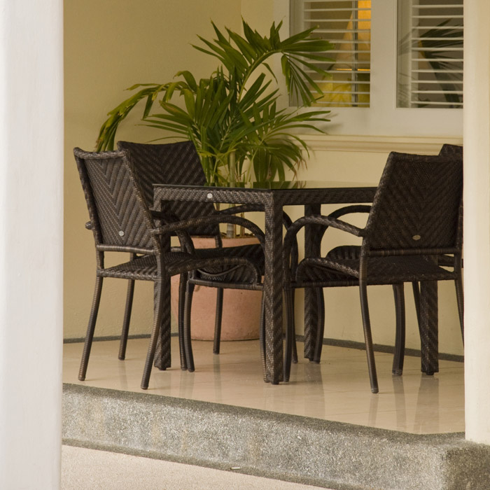 alexander rose fiji esstisch 727 gartenm bel. Black Bedroom Furniture Sets. Home Design Ideas
