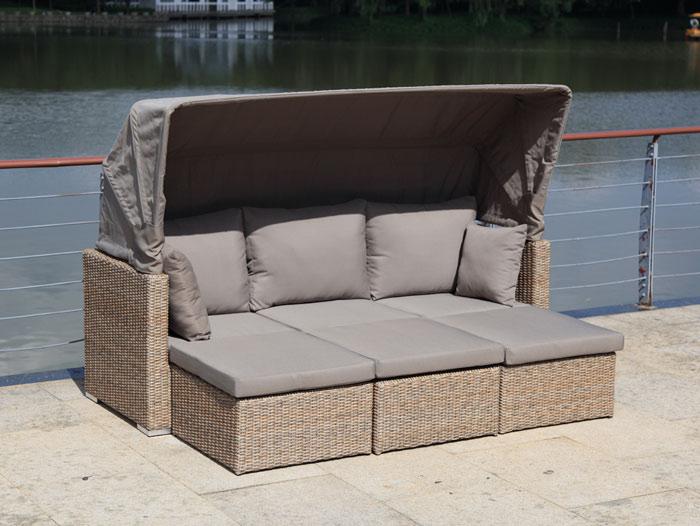 zebra jack lounge set tobacco gartenm bel. Black Bedroom Furniture Sets. Home Design Ideas