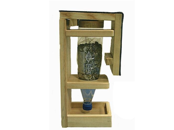 vogelhaus silo futterstation vogelh user. Black Bedroom Furniture Sets. Home Design Ideas