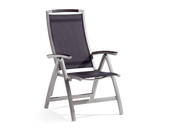 sieger klappsessel trento graphit gartenm bel. Black Bedroom Furniture Sets. Home Design Ideas