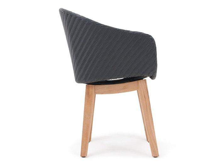 Moderne Gartenstühle villeroy boch torino gartenstuhl schwarz pl5 gartenmöbel mesem de