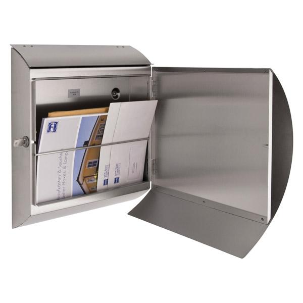 Briefkasten Bilder heibi briefkasten edelstahl 43732 briefkästen mesem de