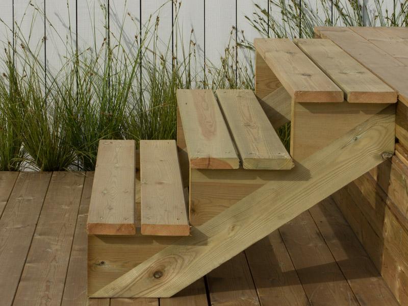 plus treppenwange f r 6 stufen kiefer druckimpr gniert holz. Black Bedroom Furniture Sets. Home Design Ideas