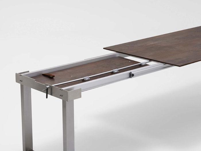 Niehoff Nando Tisch 95x180 280cm Teak Gartenmöbel MESEM.de