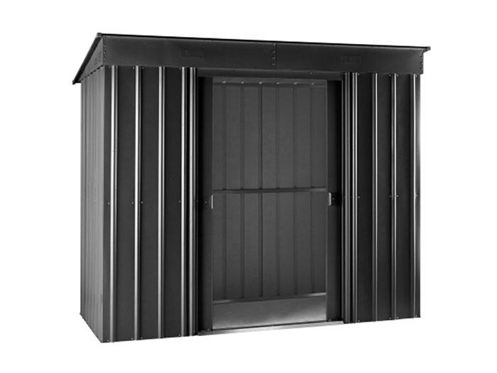 globel metall ger tehaus 8x4 pult anthrazit gartenh user. Black Bedroom Furniture Sets. Home Design Ideas
