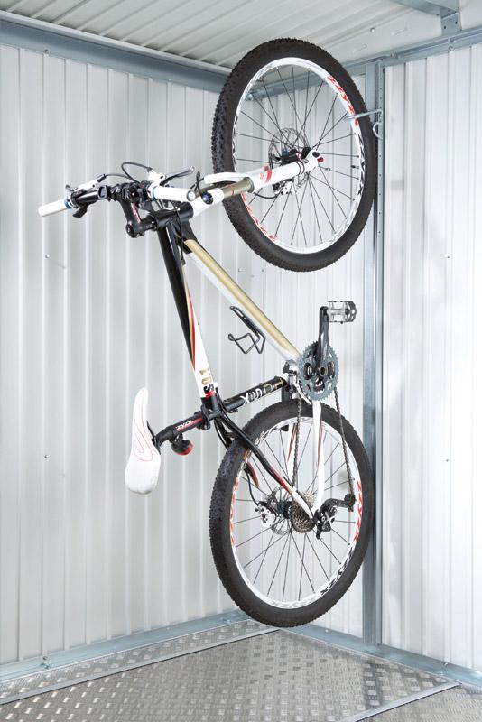 Biohort fahrradhalter bikemax europa gartenhauszubeh r - Wand fahrradhalter ...