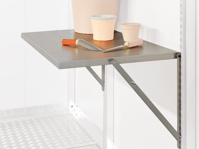 biohort casanova klapptisch gartenhauszubeh r. Black Bedroom Furniture Sets. Home Design Ideas
