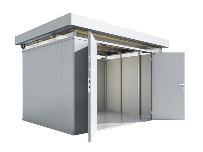 biohort casanova set 3x3 mit doppelt r gartenh user. Black Bedroom Furniture Sets. Home Design Ideas