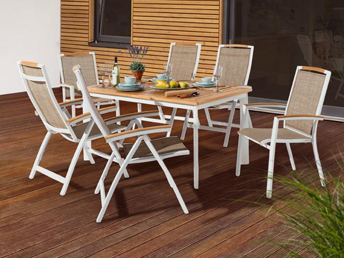 Gartenmöbel aus holz modern  Gartenmöbel Weiss Modern - Schoner garten