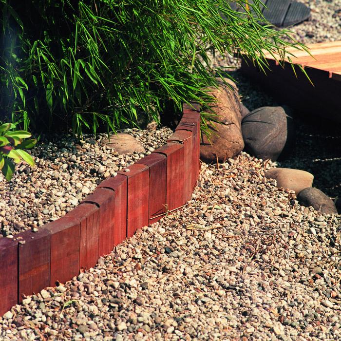 Holz Palisade Bangkirai Rollboard ~ Bangkirai Palisade 3 4,5×9,5x100cm