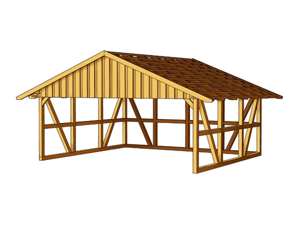 carport konstruktionsvollholz. Black Bedroom Furniture Sets. Home Design Ideas
