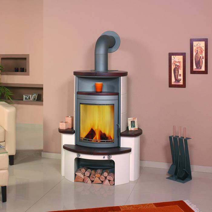 kaminofen avenso jola braun stone von hark ebay. Black Bedroom Furniture Sets. Home Design Ideas