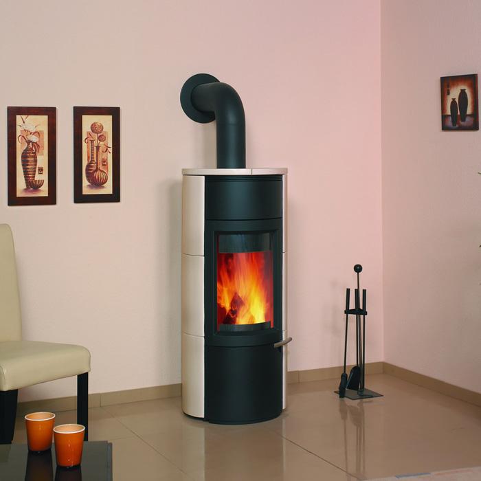 kaminofen loop 2 creme von hark lieferzeit ca 3 4 werktage ebay. Black Bedroom Furniture Sets. Home Design Ideas