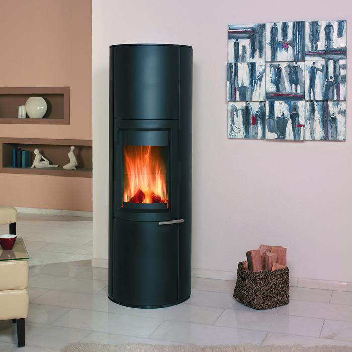 kaminofen zeno graphit von hark lagerware lieferzeit ca 3 4 werktage ebay. Black Bedroom Furniture Sets. Home Design Ideas