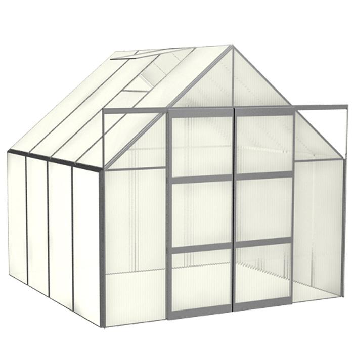 vitavia gew chshaus uranus 6700 alu blank esg 3mm. Black Bedroom Furniture Sets. Home Design Ideas