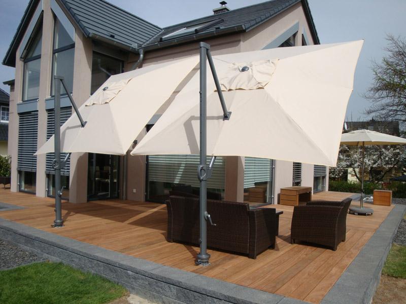 zangenberg monte carlo ampelschirm polyester 300x300cm. Black Bedroom Furniture Sets. Home Design Ideas