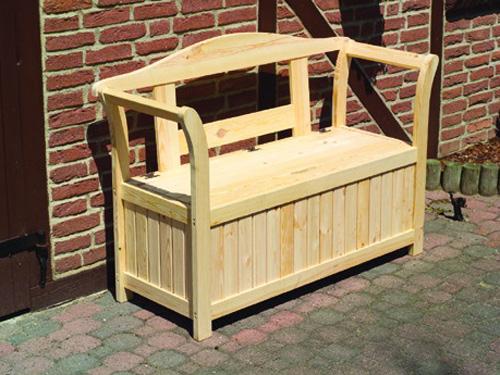 friesenbank mit kissenbox gartenm bel. Black Bedroom Furniture Sets. Home Design Ideas