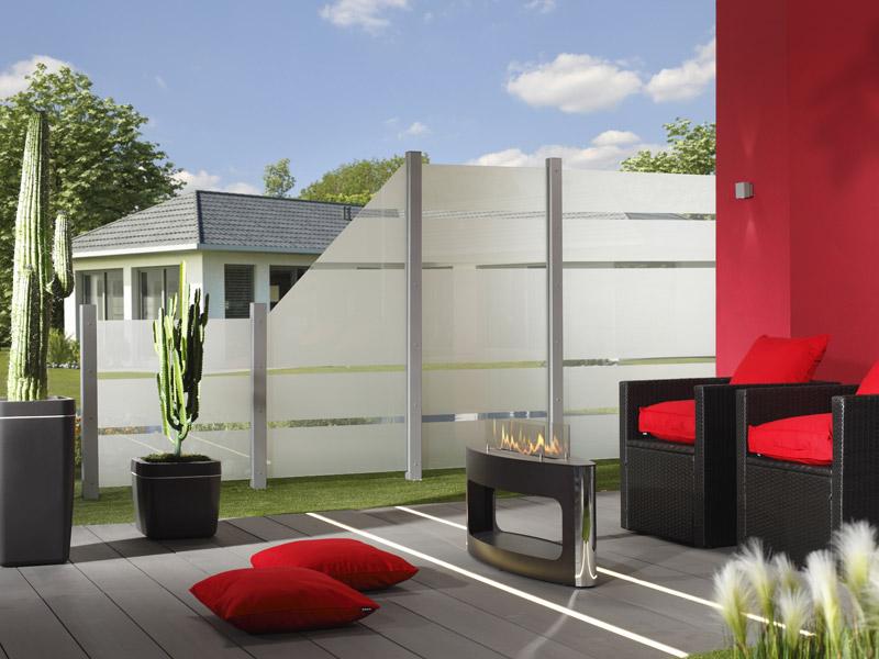 4 17m system glas alpha me27151 zaun. Black Bedroom Furniture Sets. Home Design Ideas