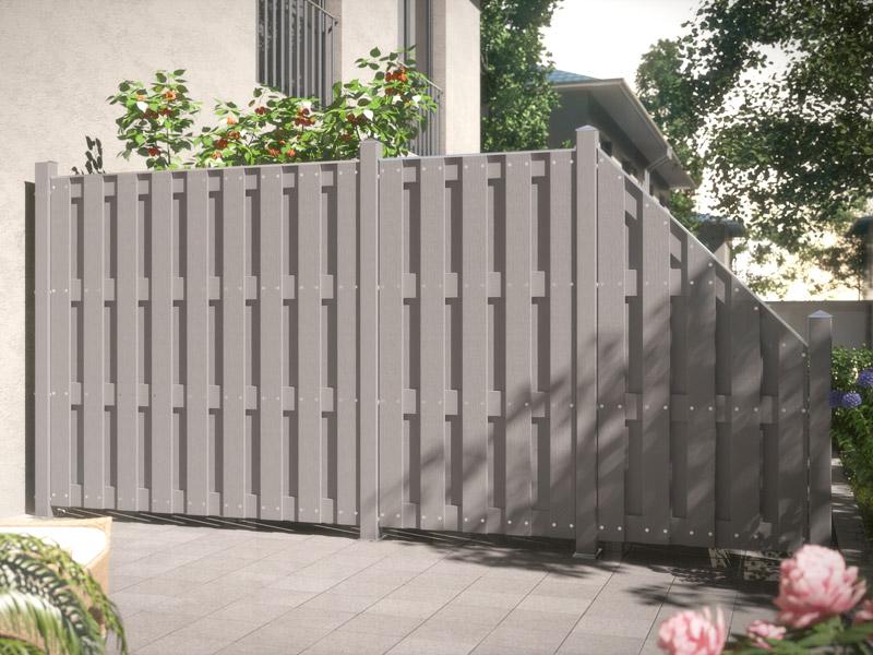 trennwand terrasse kunststoff ve84 hitoiro. Black Bedroom Furniture Sets. Home Design Ideas