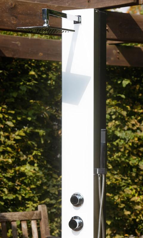 ideal gartendusche tobago solar gartenduschen. Black Bedroom Furniture Sets. Home Design Ideas