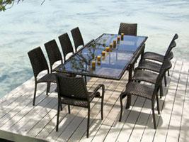 alexander rose fiji stapelstuhl gartenm bel. Black Bedroom Furniture Sets. Home Design Ideas