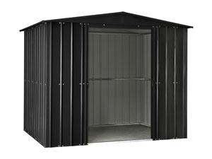 globel metall ger tehaus 8x10 anthrazit gartenh user. Black Bedroom Furniture Sets. Home Design Ideas