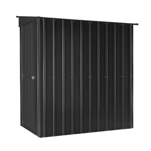 globel metall ger tehaus 8x5 leanto anthrazit gartenh user. Black Bedroom Furniture Sets. Home Design Ideas