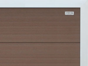 elephant forte braun wpc 180x180cm zaun. Black Bedroom Furniture Sets. Home Design Ideas