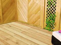 terrassendiele l rche 27x143mm beidseitig franz sisches. Black Bedroom Furniture Sets. Home Design Ideas