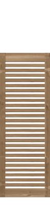 Zaun sina 51153 90x180 mit gitter kdi braun zaun for Sichtschutzzaun sina