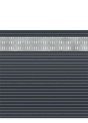 system wpc profil abschlussleiste oben anthrazit 2272 zaunbeschl ge. Black Bedroom Furniture Sets. Home Design Ideas