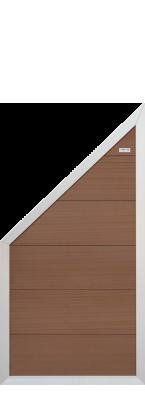 elephant forte braun wpc 180x93 zaun. Black Bedroom Furniture Sets. Home Design Ideas