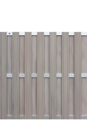 wpc zaun aluline anthrazit 180x180cm zaun. Black Bedroom Furniture Sets. Home Design Ideas