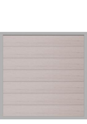 grojaviento wpc zaun bicolor wei 90x180 zaun. Black Bedroom Furniture Sets. Home Design Ideas