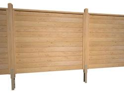 u leiste sib l rche 180cm holz. Black Bedroom Furniture Sets. Home Design Ideas