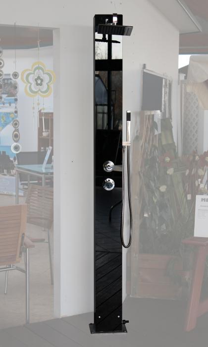 gartenduschen ausstellung. Black Bedroom Furniture Sets. Home Design Ideas