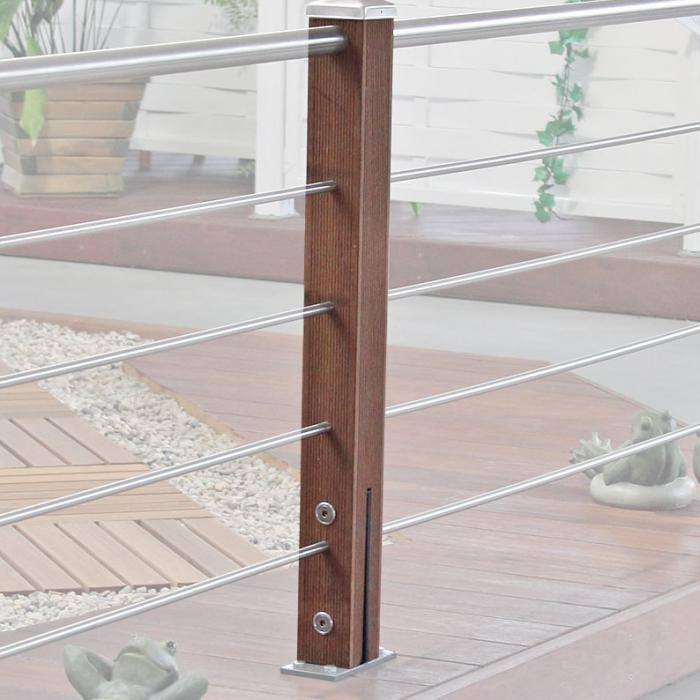 zaun terrassengel nder. Black Bedroom Furniture Sets. Home Design Ideas