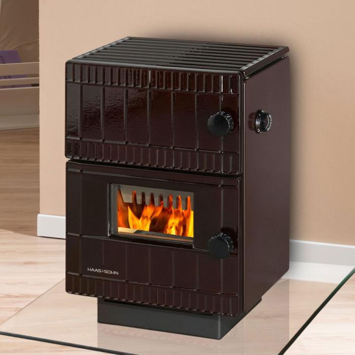 haas sohn dauerbrandofen bernau 6 0 kw kamin fen. Black Bedroom Furniture Sets. Home Design Ideas