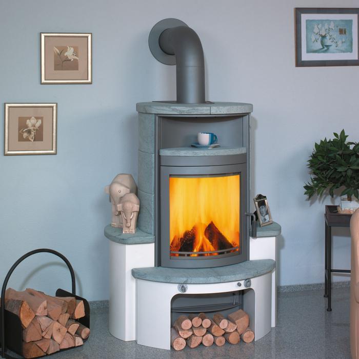 hark kaminofen avenso naturstein 7kw dauerbrand ebay. Black Bedroom Furniture Sets. Home Design Ideas