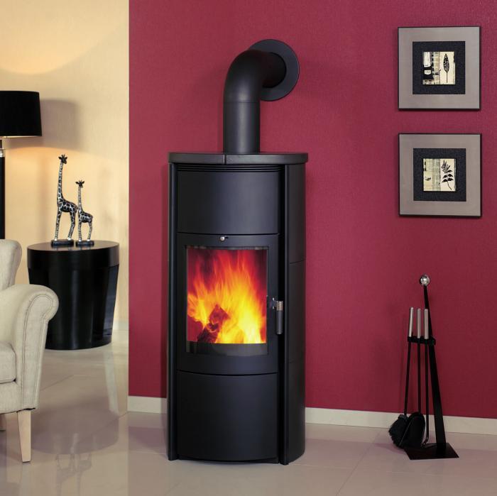 hark kaminofen keno ww negro 8 kw mit wasserw rmetauscher ohne zubeh r ebay. Black Bedroom Furniture Sets. Home Design Ideas