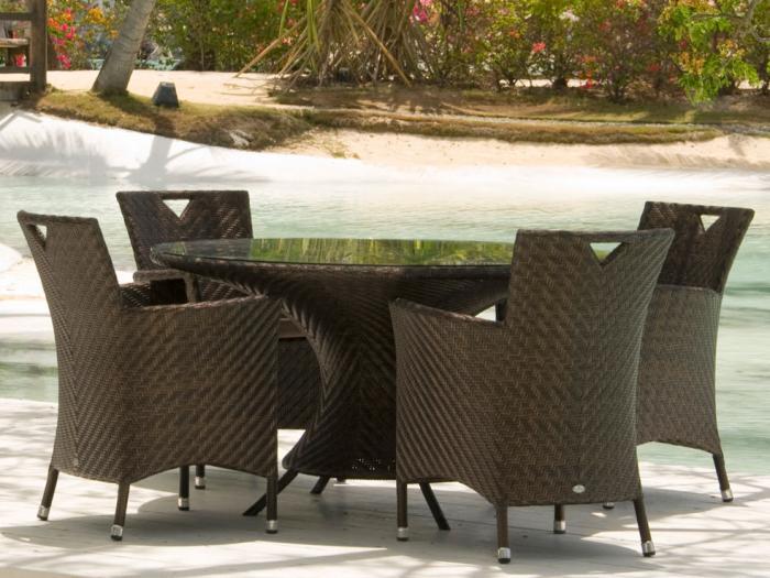 Alexander Rose Wave Tisch Rund | Gartenmöbel | Mesem.De
