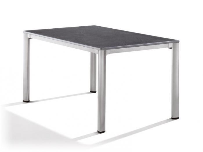 sieger gartentisch 140 x 90cm graphit anthrazit gartenm bel. Black Bedroom Furniture Sets. Home Design Ideas