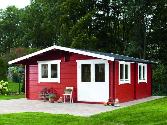 Gartenhaus freizeithaus - Gartenhaus im schwedenstil ...